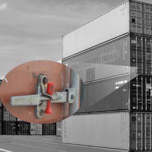Sellos de clavo para contenedores (sector marino)