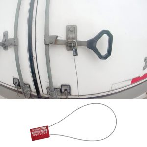 Sello de cable certificado Al Seal con foliado y cable de acero