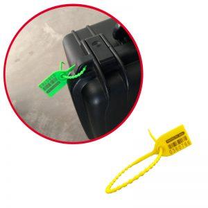 El sello de seguridad T&T Seal es ideal maletas y valijas
