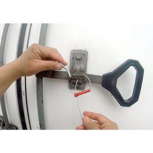 Sello de seguridad Key Cable para transporte de carga refrigerado y otros