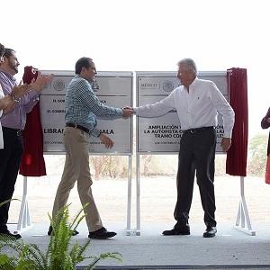 Inauguran Libramiento Comala de la Autopista Colima a Guadalajara