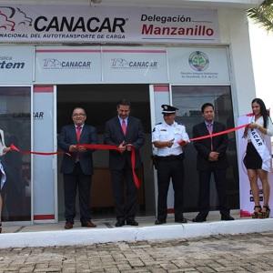 Estrenan Delegación de Canacar en Manzanillo