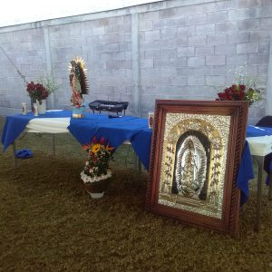 Amena Misa a la Virgen de Guadalupe en Protectoseal