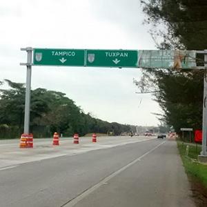 Construyen Autopista Tuxpan-Tampico
