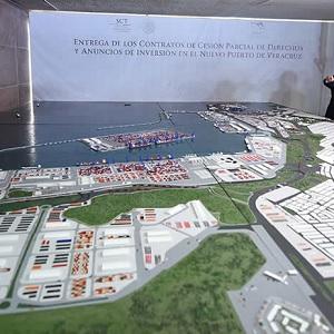 Llegará a Nuevo Puerto de Veracruz Primer Buque de Gran Calado
