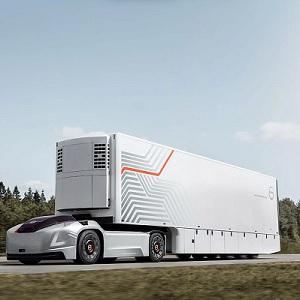 Presentan Camión de Carga Eléctrico y Autónomo