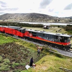 Construyen Tren Costero en Ecuador