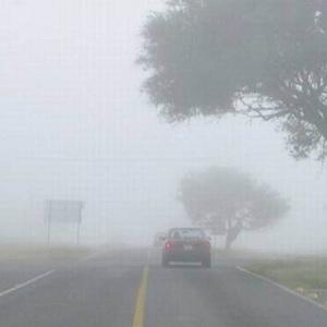 Niebla en Carreteras por Primera Onda Gélida de la Temporada