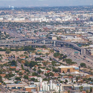 Largas Filas en Frontera Ciudad Juárez-El Paso