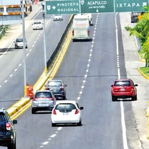 Autopista México-Acapulco Sube Cuota