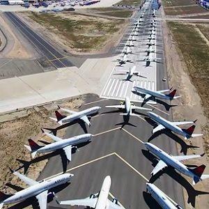 Caída Importante del Sector Aéreo de Carga