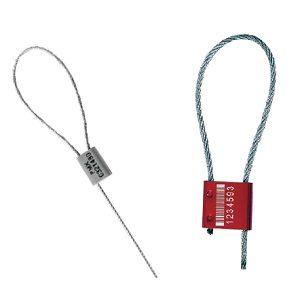 Los Sellos con Cable de Acero Dan Alta Seguridad
